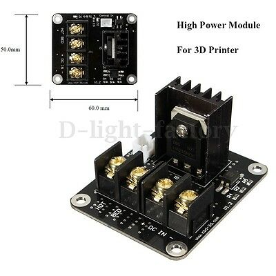 3D Printer Parts General Add-on Heat Bed MOSFET Power Expansion Module Board