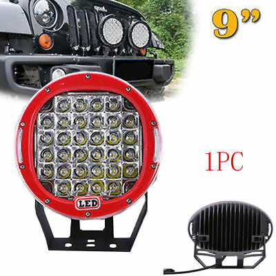 1X 9inch 96W LED Work Light Round Driving Lamp Jeep Motor Spot Beam CREE SUV 4WD