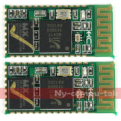 2 PCS RS232 /TTL HC-05 Wireless Bluetooth RF Transceiver Module For Arduino NEW