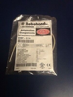 Robohand OISP-014 PNP Inductive Proximity Sensor Switch Sd 1.0mm 10-30vdc New