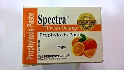 Dental Prophy Paste With Fluoride - Spectra -Fresh orange- 75Gm