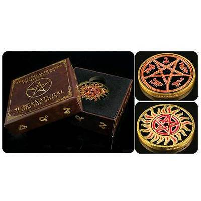 Supernatural - Hunters Challenge Coin NEW Protection from Possession Devils Trap