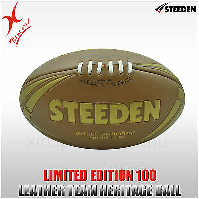 Steeden Leather Team Heritage Rugby Ball - Limited Edition 100 - Limited Stock