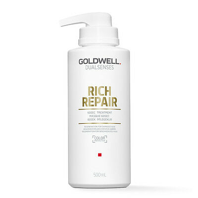 (39,98€/L) Goldwell Dualsenses Rich Repair Restoring 60sec Treatment 500ml