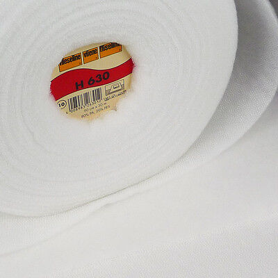 Vilene VLH630 Iron On Fusible Fleece ~ Low Loft Volume Fabric / quilt wadding