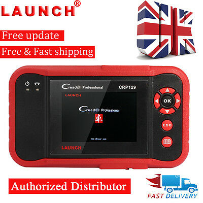 UK LAUNCH X431 CRP129 VIII Auto OBD2 Code Reader Diagnostic Scanner Tool SRS ABS