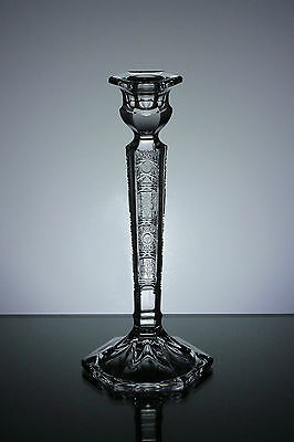 Candle Holder 21 cm Tall Hand Cut Lead Crystal Candlestick Gift Box 24% PbO