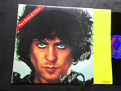 LP ITALY 1974 Marc Bolan & T-Rex ‎– Zinc Alloy And The Hidden Riders Of Tomorrow