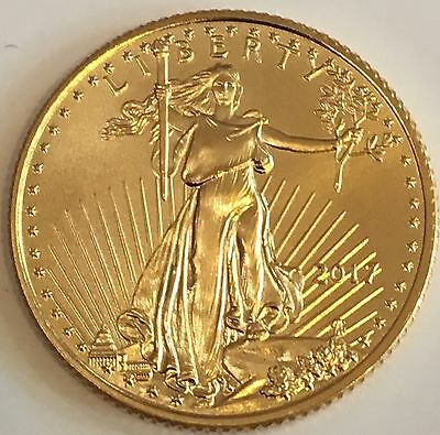 2017 American Gold Eagle Tenth Ounce $5