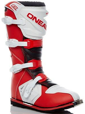 ONeal Red-White 2018 Rider EU MX Boot