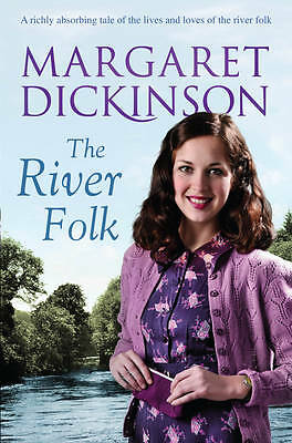 The River Folk by Margaret Dickinson (Paperback) New Book