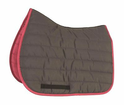 NEW Shires Wessex High Wither Shaped Comfort Padded Thick Horse Saddlecloth Pad