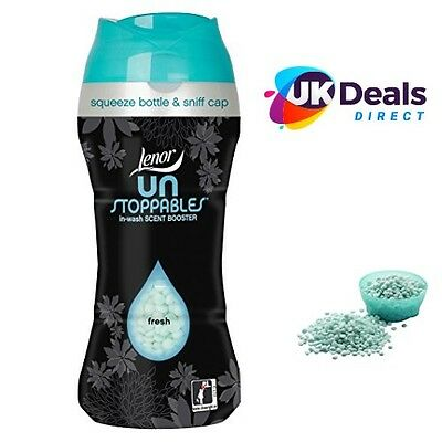 Lenor Unstoppables In Wash Scent Booster Beads Fresh  275g