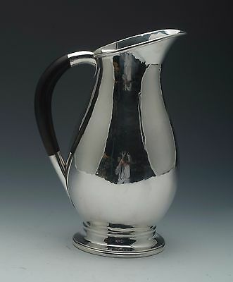 George Jensen water pitcher Sterling Silver