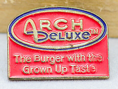 McDonald's Employee Promotional Pin - Arch Deluxe 1996