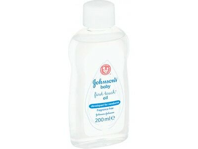 Johnson's Baby First Body Oil 200ml