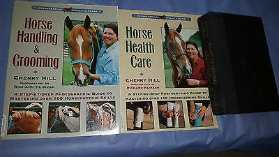 3 horse care and training books