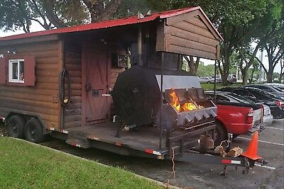 BBQ Food Truck/Concession Trailer