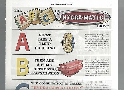 ABC of Hydra Matic 1945  Mag ad