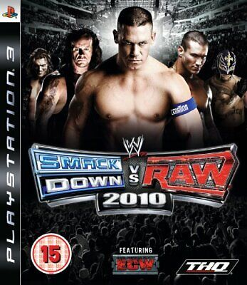 WWE Smackdown vs Raw 2010 (PS3) - Game  LAVG The Cheap Fast Free Post