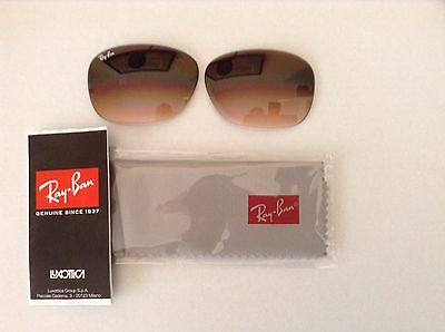 New Authentic RAY-BAN Sunglasses Replacement Lens RB4101 Brown/Grd 58mm  Eyesize