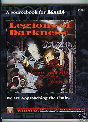 KULT - Legions of Darkness 5001 A Sourcebook for Kult the RPG Graphic Nature NEW