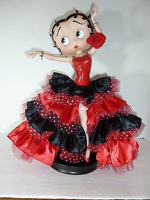 "Danbury Mint Betty Boop 16""  ""Flamenco Betty"" Figurine Syd Hap"