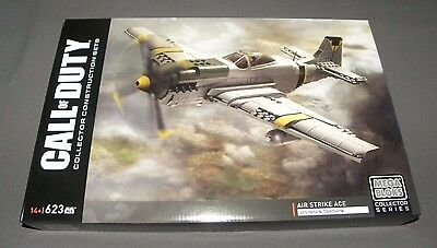 Call of Duty Air Strike Ace Mega Bloks Collector Series Set DPW87