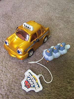 The Chevron Cars Taylor Taxi LE 2 Limited Edition 2001 Gold w/ pigeons