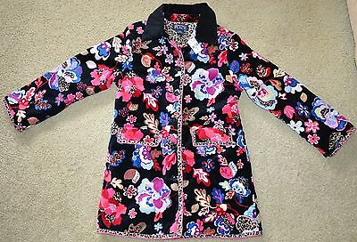 The Childrens Place Girls Floral Coat Sz L Youth NWT