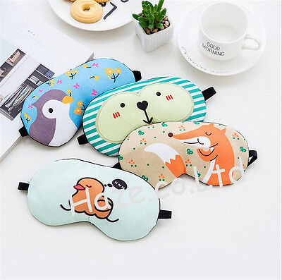 Cartoon Eye Mask Cover Sleeping Funny Eyepatch Rest Lovely Toy for Kids