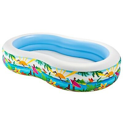 "Intex Swim Center Paradise Inflatable Pool 103"" X 63"" X 18"" for Ages 3+"