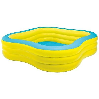 """Intex Swim Center Family Inflatable Pool 90"""" X 90"""" X 22"""" for Ages 6+"""