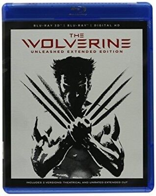 The Wolverine [New Blu-ray 3D] With DVD, Widescreen, Subtitled, Ac-3/Dolby Dig