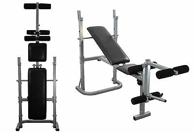 Weight Bench Fitness Training Incline Flat Leg Bench Folding & Adjustable