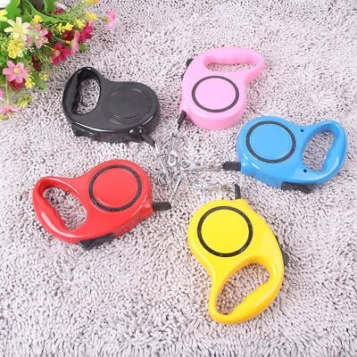 Retractable Dog Leash lead Nylon ABS Pets Cats Puppy Leash Lead  Walking Lead TP