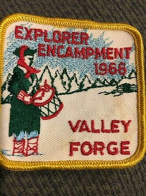 1966 Valley Forge Encampment Patch