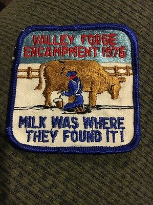 1976 Valley Forge Encampment Patch
