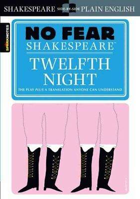 Twelfth Night (No Fear Shakespeare) by William Shakespeare 9781586638511
