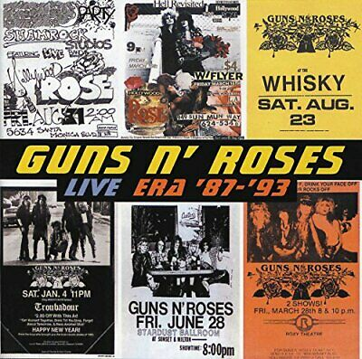 Guns N' Roses - Live Era '87-'93 - Guns N' Roses CD 3RVG The Cheap Fast Free The