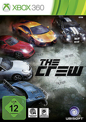 The Crew für XBOX 360 | NEUWARE | KOMPLETT IN DEUTSCH!