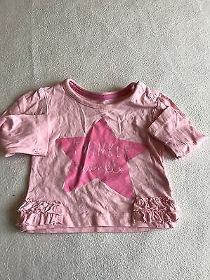 Baby Girls Clothes 0-3 Months - Pretty T Shirt  Top -