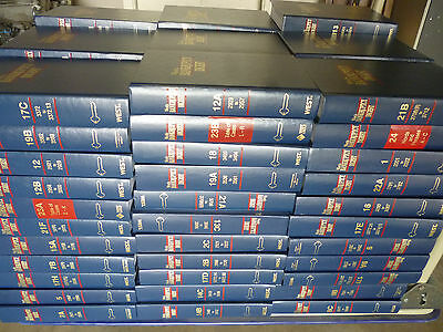Law Books West's Bankruptcy Digest Set of Law Books Approx. 99 Books