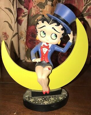 "Danbury Mint Betty Boop ""MOONGLOW"" Collector Figurine W/box"