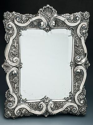 .833 Silver Portugese Mirror