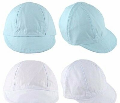 **Sun Hat baby** Soft Cap Toddler Cotton Summer 4 Sizes 0-18m