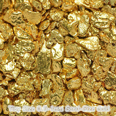 10 pcs Alaska Natural Gold Nuggets - Alaskan Gold - TVs Gold Rush (#G.5)