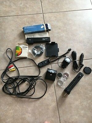 Vintage Misc. Camera parts Lens Cords Flash LOT
