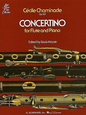 Cecile Chaminade: Concertino For Flute And Piano Op.107. Sheet Music