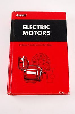 1971 AUDEL ELECTRIC MOTORS by EDWIN P. ANDERSON AND MILLER #23264